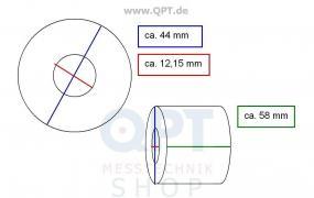 Registrierpapier f. M1/2/S2/MMQ10 (1 VE=12 Rollen)