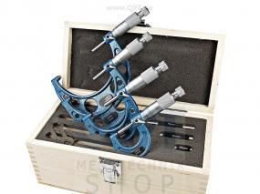 Bügelmessschraube DIN 863, Satz 0 - 100 mm